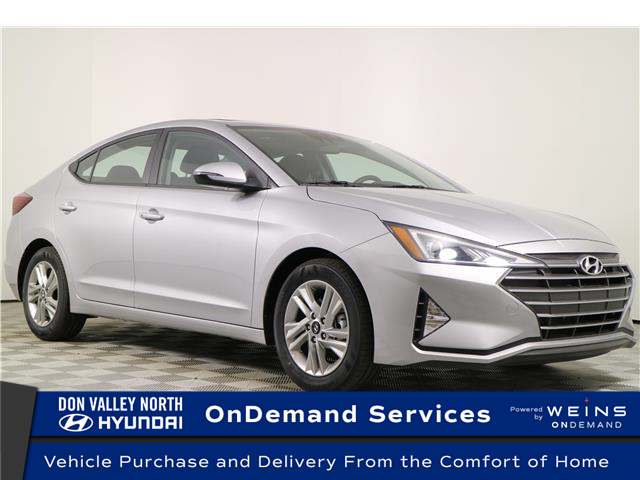 2020 Hyundai Elantra Preferred w/Sun & Safety Package (Stk: 195060) in Markham - Image 1 of 22