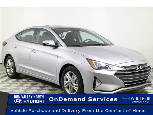 2020 Hyundai Elantra Preferred w/Sun & Safety Package (Stk: 195080) in Markham - Image 1 of 22
