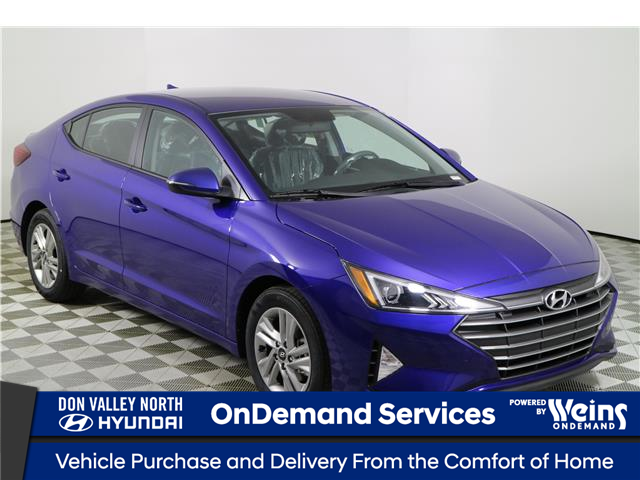 2020 Hyundai Elantra Preferred (Stk: 194455) in Markham - Image 1 of 20