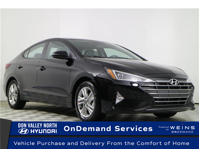 2020 Hyundai Elantra Preferred w/Sun & Safety Package (Stk: 195340) in Markham - Image 1 of 22