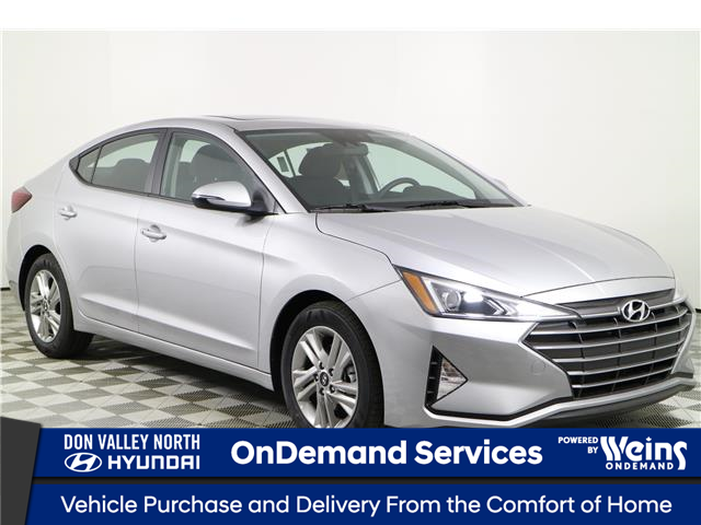 2020 Hyundai Elantra Preferred w/Sun & Safety Package (Stk: 104085) in Markham - Image 1 of 22