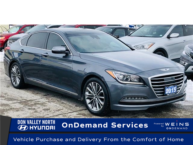 2015 Hyundai Genesis 3.8 Technology (Stk: 8312H) in Markham - Image 1 of 24