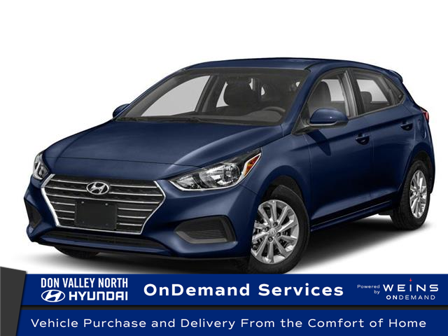 2020 Hyundai Accent Preferred (Stk: 104395) in Markham - Image 1 of 9