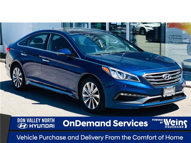 2016 Hyundai Sonata Sport Tech (Stk: 8412H) in Markham - Image 1 of 24