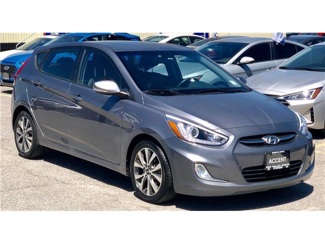 2016 Hyundai Accent GLS (Stk: 8413H) in Markham - Image 1 of 19