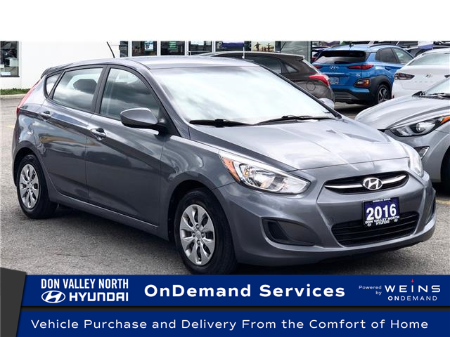 2016 Hyundai Accent GL (Stk: 8490H) in Markham - Image 1 of 18
