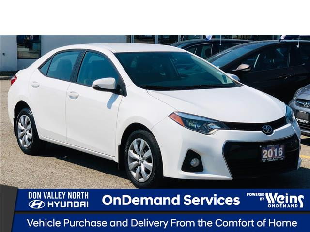 2016 Toyota Corolla S (Stk: 8499H) in Markham - Image 1 of 23