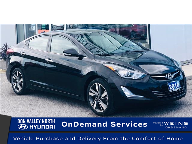 2016 Hyundai Elantra Limited (Stk: 8586H) in Markham - Image 1 of 19