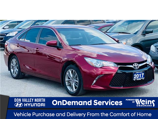2017 Toyota Camry SE (Stk: 8627H) in Markham - Image 1 of 18