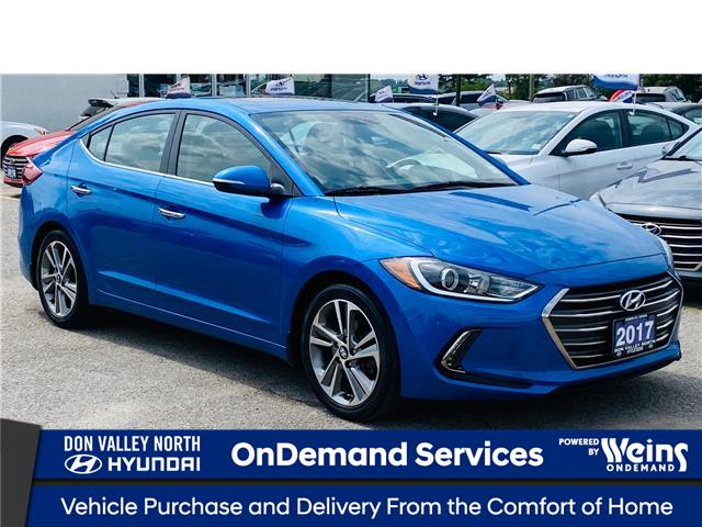 2017 Hyundai Elantra Limited (Stk: 8645H) in Markham - Image 1 of 19