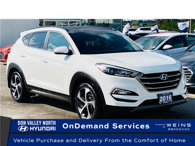 2016 Hyundai Tucson Limited (Stk: 8660H) in Markham - Image 1 of 20