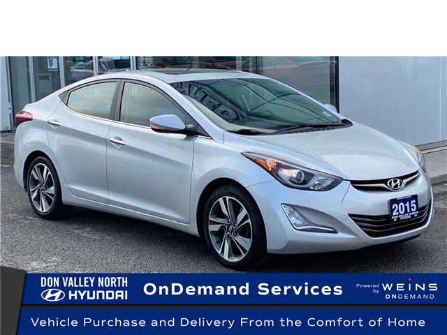 2015 Hyundai Elantra Limited (Stk: 8651H) in Markham - Image 1 of 21
