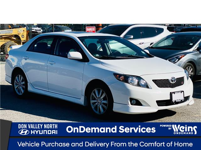 2010 Toyota Corolla S (Stk: 8719H) in Markham - Image 1 of 15
