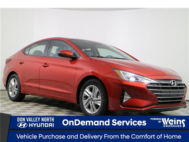 2020 Hyundai Elantra Preferred w/Sun & Safety Package (Stk: 104806) in Markham - Image 1 of 22
