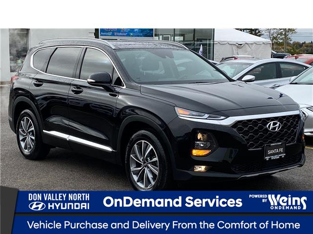 2020 Hyundai Santa Fe Preferred 2.4 w/Sun & Leather Package (Stk: 8800H) in Markham - Image 1 of 19