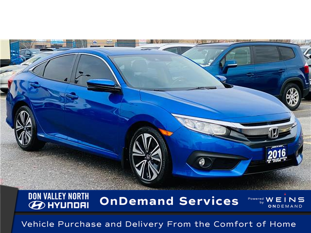 2016 Honda Civic EX-T (Stk: 8865H) in Markham - Image 1 of 15