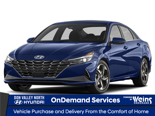 2021 Hyundai Elantra Ultimate w/Lt Grey Seats (Stk: 105126) in Markham - Image 1 of 3