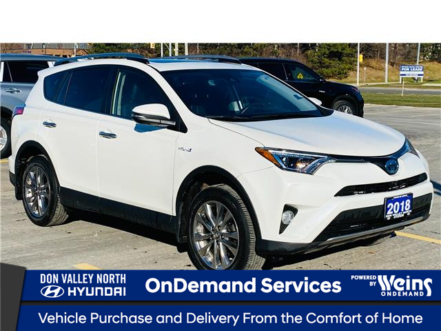 2018 Toyota RAV4 Hybrid Limited (Stk: 8926H) in Markham - Image 1 of 14