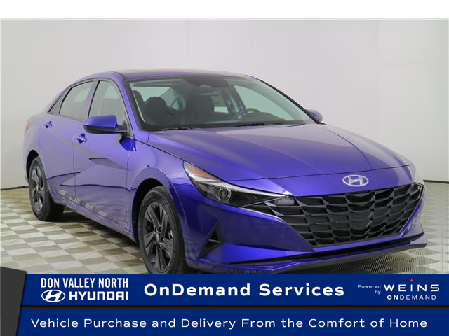2021 Hyundai Elantra Preferred w/Sun & Safety Package (Stk: 105100) in Markham - Image 1 of 24