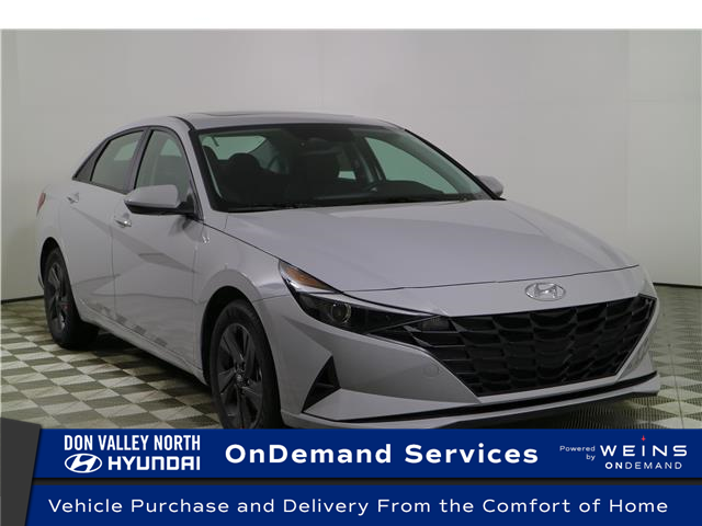 2021 Hyundai Elantra Preferred w/Sun & Safety Package (Stk: 105098) in Markham - Image 1 of 25