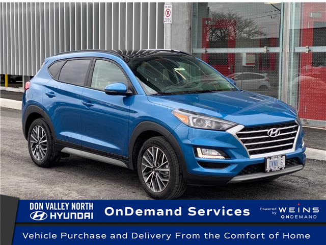 2021 Hyundai Tucson Luxury (Stk: 104799) in Markham - Image 1 of 19