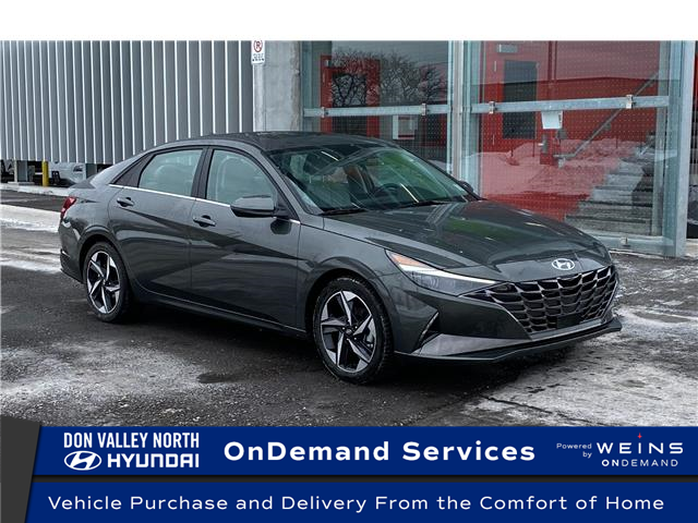2021 Hyundai Elantra Ultimate Tech (Stk: 9084H) in Markham - Image 1 of 22