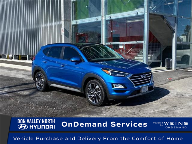 2021 Hyundai Tucson Ultimate (Stk: 104820) in Markham - Image 1 of 15
