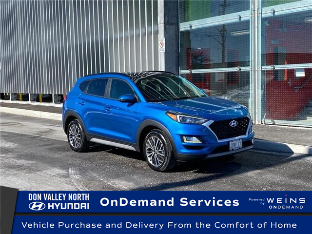 2021 Hyundai Tucson Preferred w/Trend Package (Stk: 104894) in Markham - Image 1 of 16