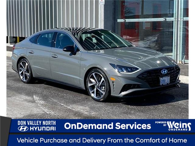 2021 Hyundai Sonata Sport (Stk: 104856) in Markham - Image 1 of 17