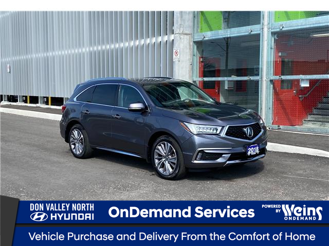 2018 Acura MDX Elite Package (Stk: 9242H) in Markham - Image 1 of 19