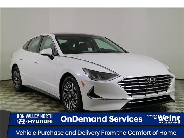 2021 Hyundai Sonata Hybrid Ultimate (Stk: 114345) in Markham - Image 1 of 27