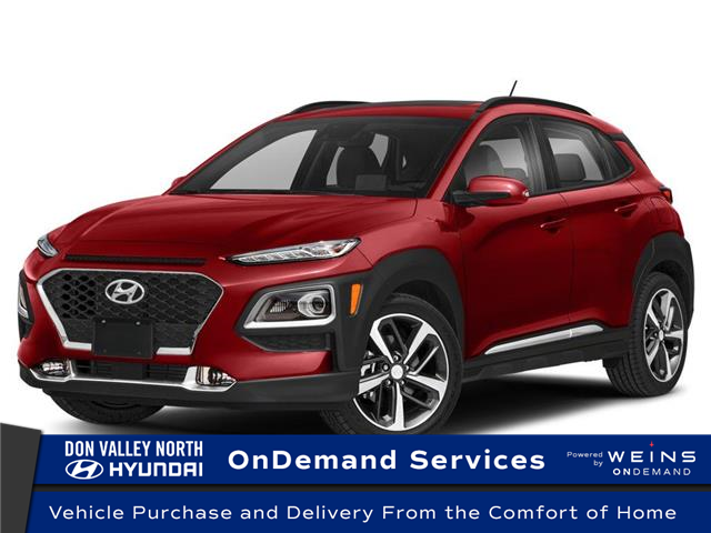 2021 Hyundai Kona 1.6T Ultimate w/Red Colour Pack (Stk: 114080) in Markham - Image 1 of 9