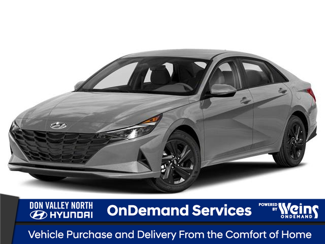 2022 Hyundai Elantra Preferred w/Sun & Tech Pkg (Stk: 16T100142) in Markham - Image 1 of 9