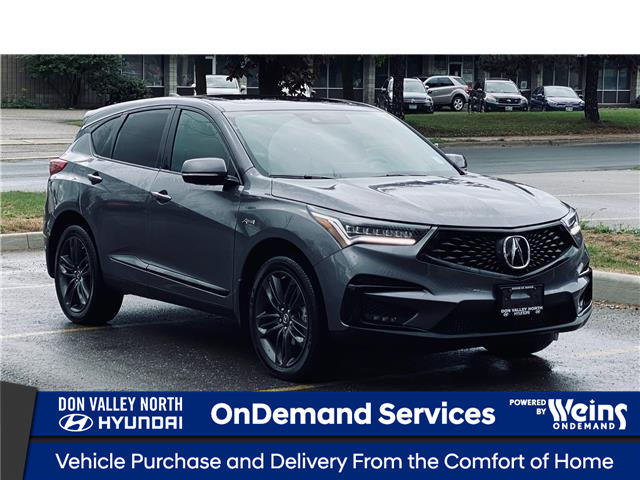 2021 Acura RDX A-Spec (Stk: 16100342A) in Markham - Image 1 of 27