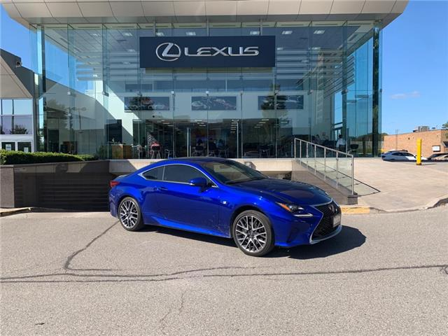 2017 Lexus RC 350 Base (Stk: 31372A) in Markham - Image 1 of 1