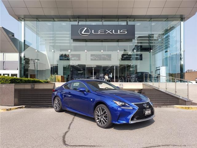2016 Lexus RC 350 Base (Stk: 31488A) in Markham - Image 1 of 1