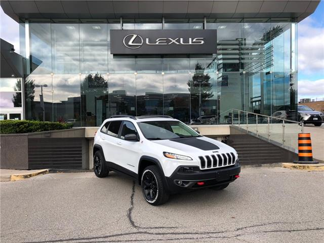 2017 Jeep Cherokee Trailhawk (Stk: 14101007A) in Markham - Image 1 of 24