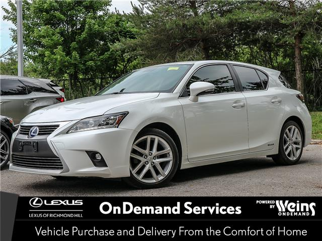 2014 Lexus CT 200h Base (Stk: 13118G) in Richmond Hill - Image 1 of 15