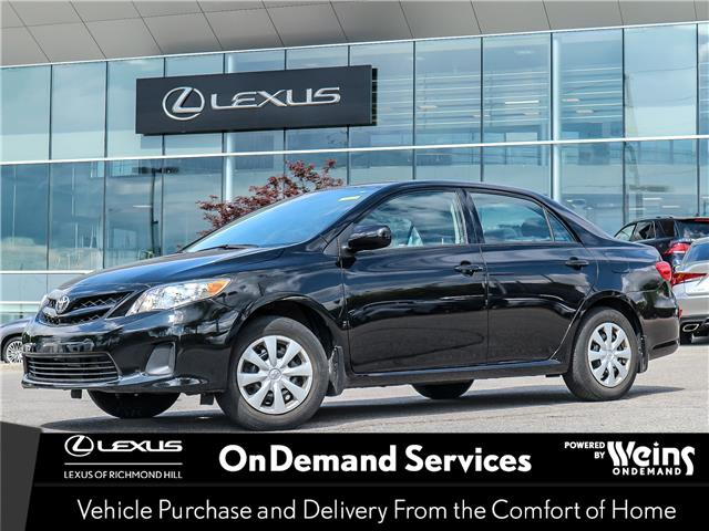 2012 Toyota Corolla  (Stk: 13280G) in Richmond Hill - Image 1 of 19