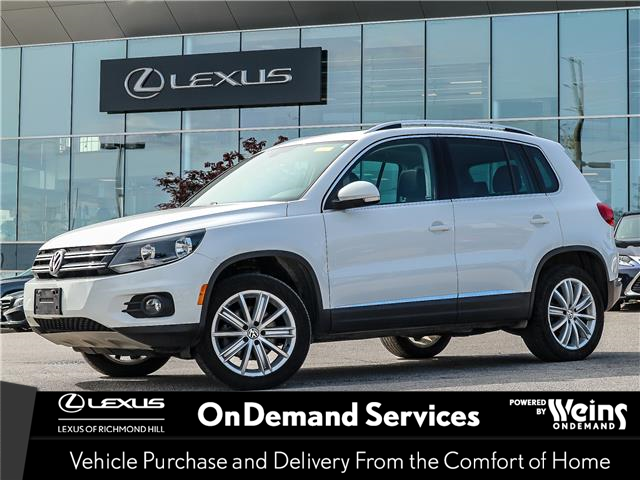 2017 Volkswagen Tiguan  (Stk: 13407G) in Richmond Hill - Image 1 of 23