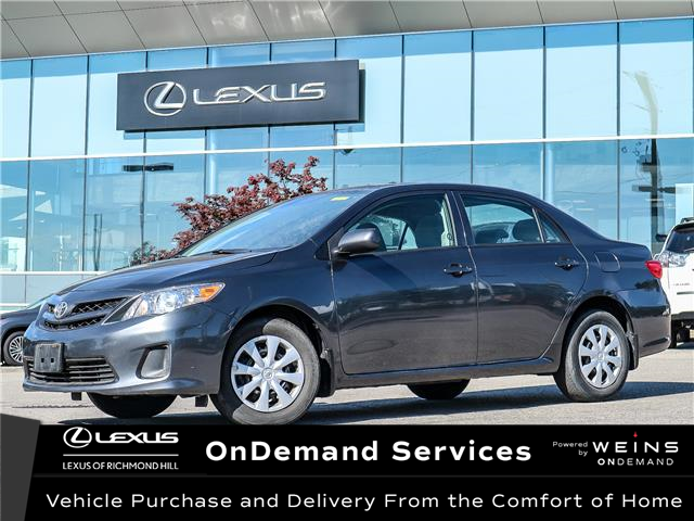 2012 Toyota Corolla  (Stk: 13466G) in Richmond Hill - Image 1 of 18