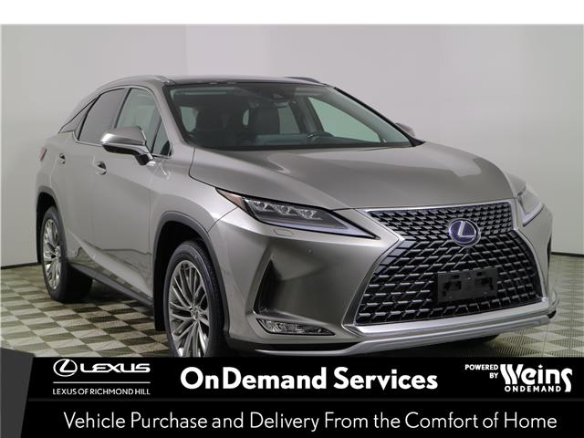 2021 Lexus RX 450h  (Stk: 100859) in Richmond Hill - Image 1 of 28