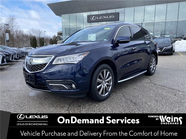 2016 Acura MDX  (Stk: 13741G) in Richmond Hill - Image 1 of 19