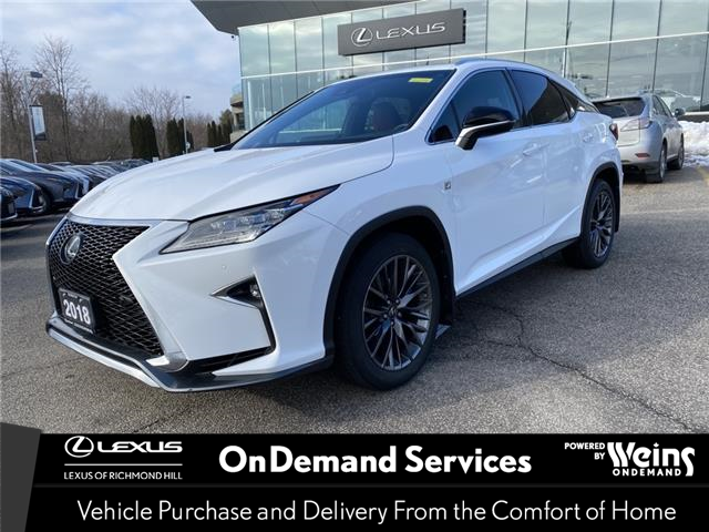 2018 Lexus RX 350  (Stk: 13899G) in Richmond Hill - Image 1 of 24