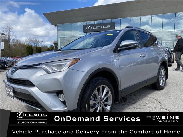 2018 Toyota RAV4 Hybrid Limited (Stk: 14374G) in Richmond Hill - Image 1 of 18