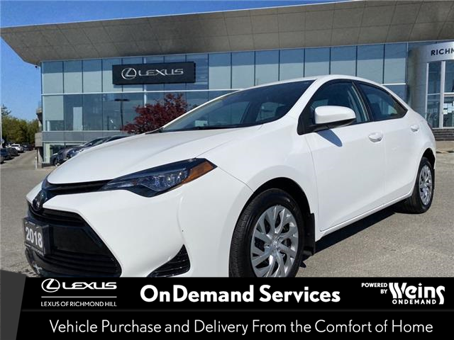 2018 Toyota Corolla LE (Stk: 14410G) in Richmond Hill - Image 1 of 19