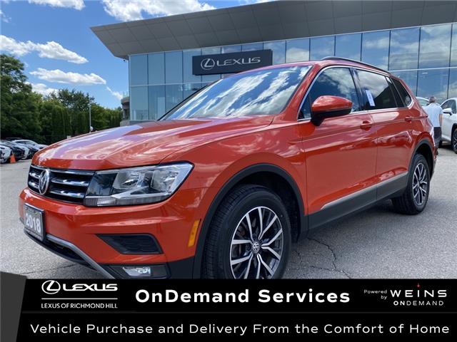 2018 Volkswagen Tiguan Comfortline (Stk: 14541G) in Richmond Hill - Image 1 of 18