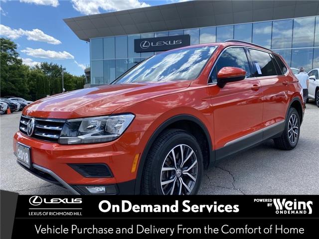 2018 Volkswagen Tiguan  (Stk: 14541G) in Richmond Hill - Image 1 of 18