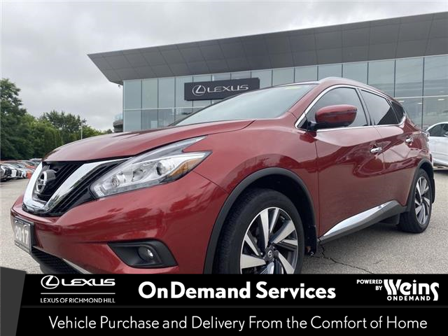 2017 Nissan Murano  (Stk: 14613G) in Richmond Hill - Image 1 of 18