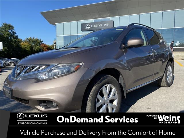 2011 Nissan Murano  (Stk: 110235A) in Richmond Hill - Image 1 of 2
